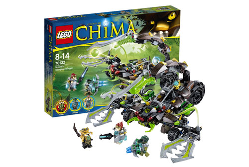 Жалящая машина Скорма Lego Legends Of Chima (лего 70132)